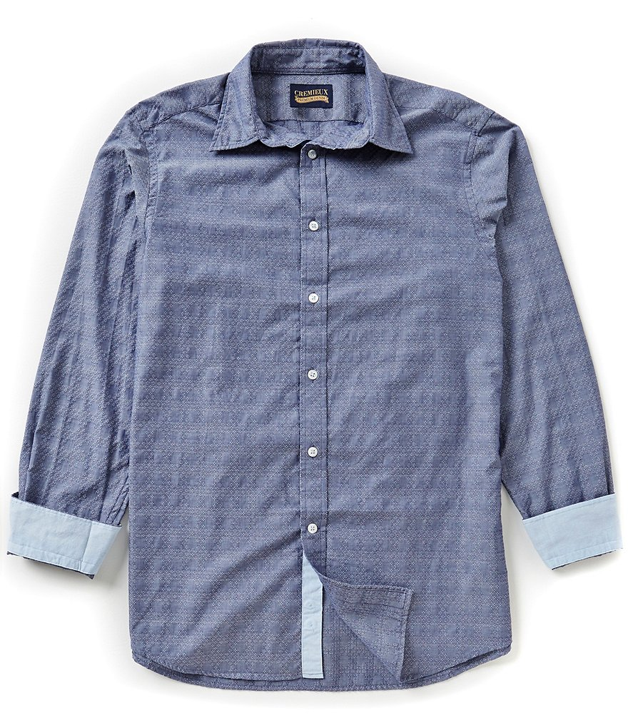 Cremieux Jeans Long-Sleeve Printed Woven Shirt