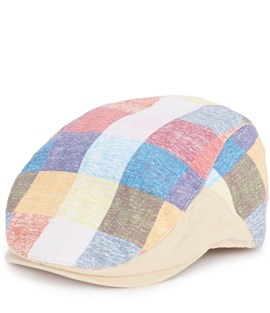 Cremieux Large Check Driver Hat