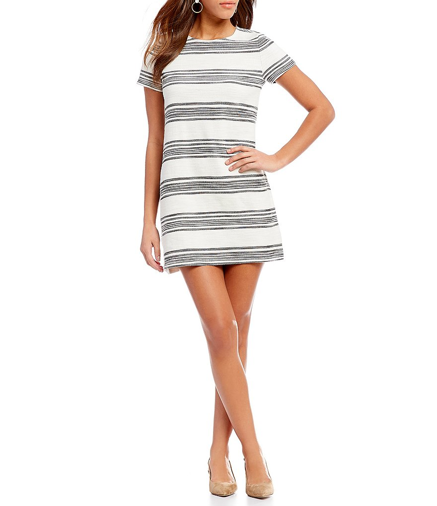 Cremieux Leah Stripe Knit Dress