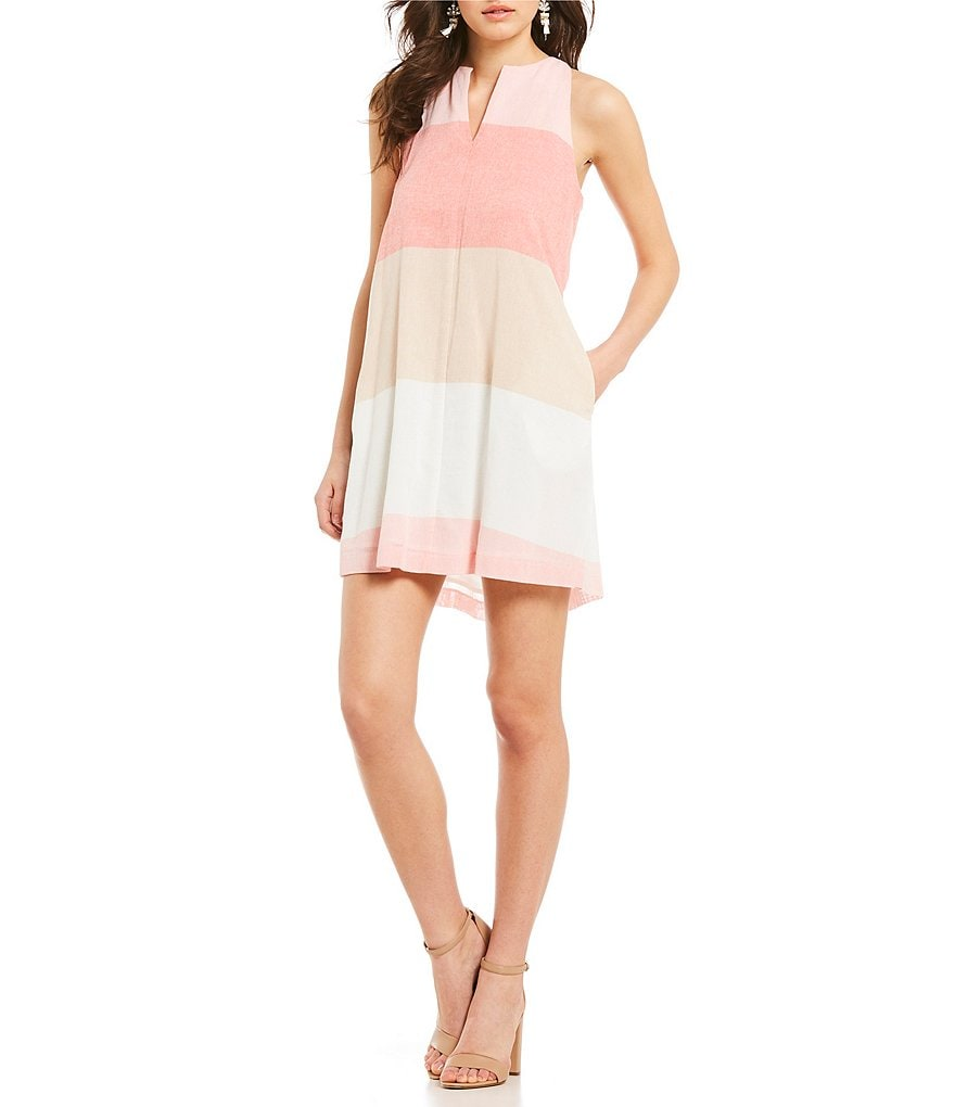 Cremieux Lenny Stripe Dress