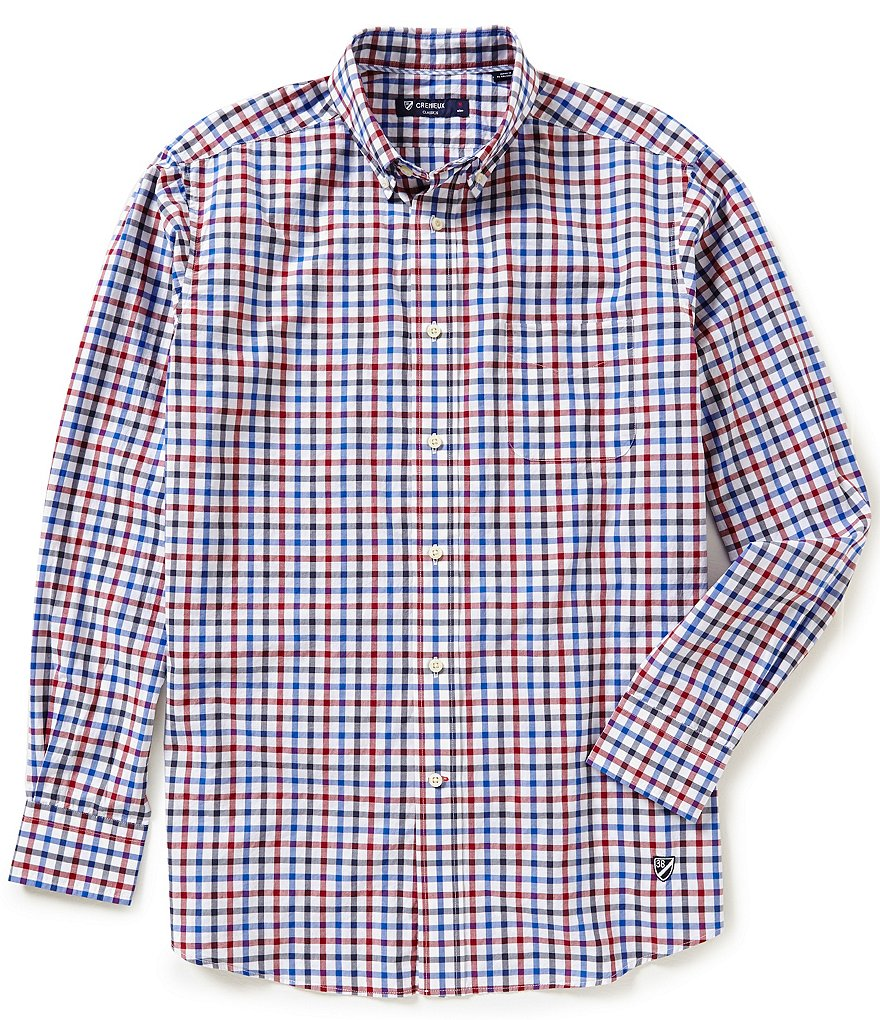 Cremieux Long-Sleeve Check Woven Shirt