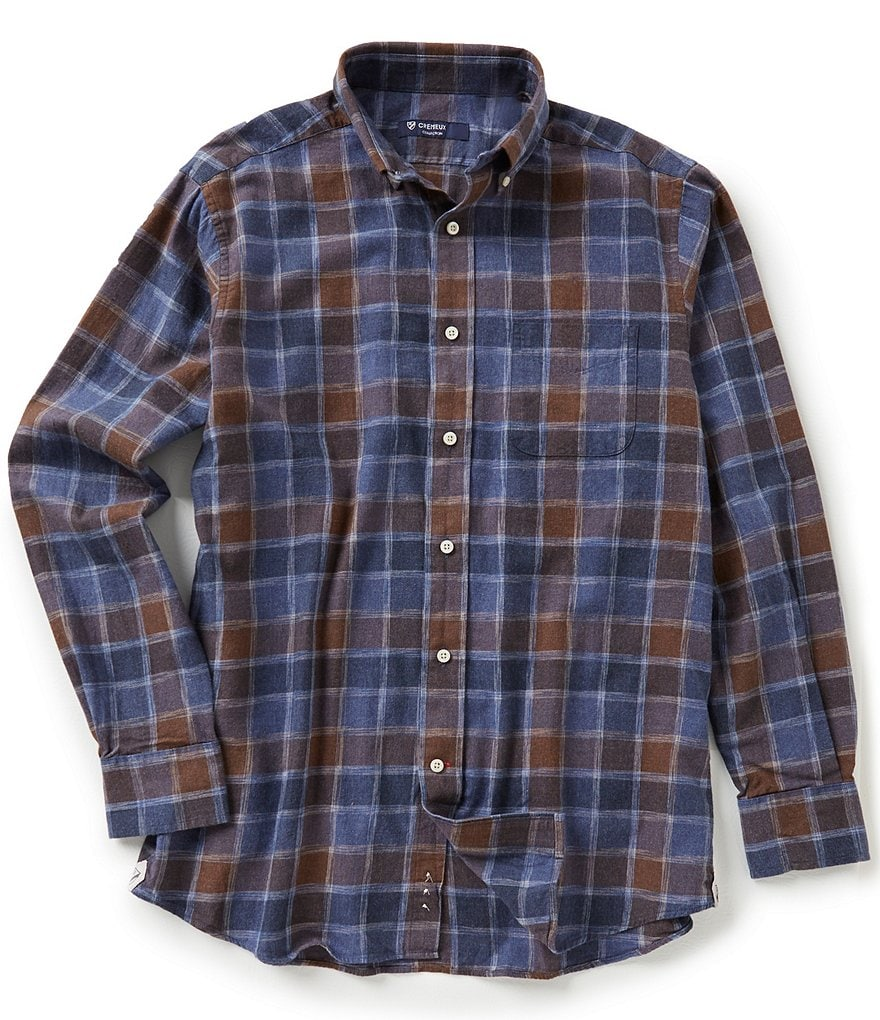Cremieux Highland Peaks Collection Check Woven Shirt