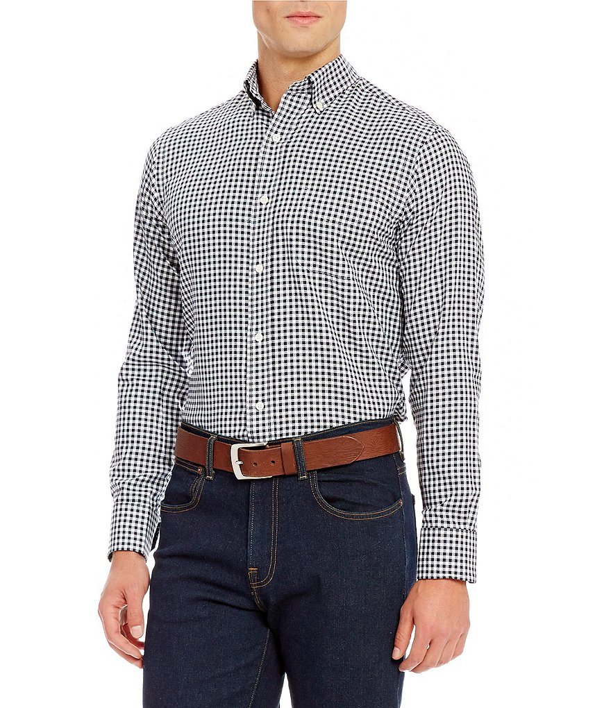 Cremieux Grandeur Nights Collection Long-Sleeve Check Woven Shirt