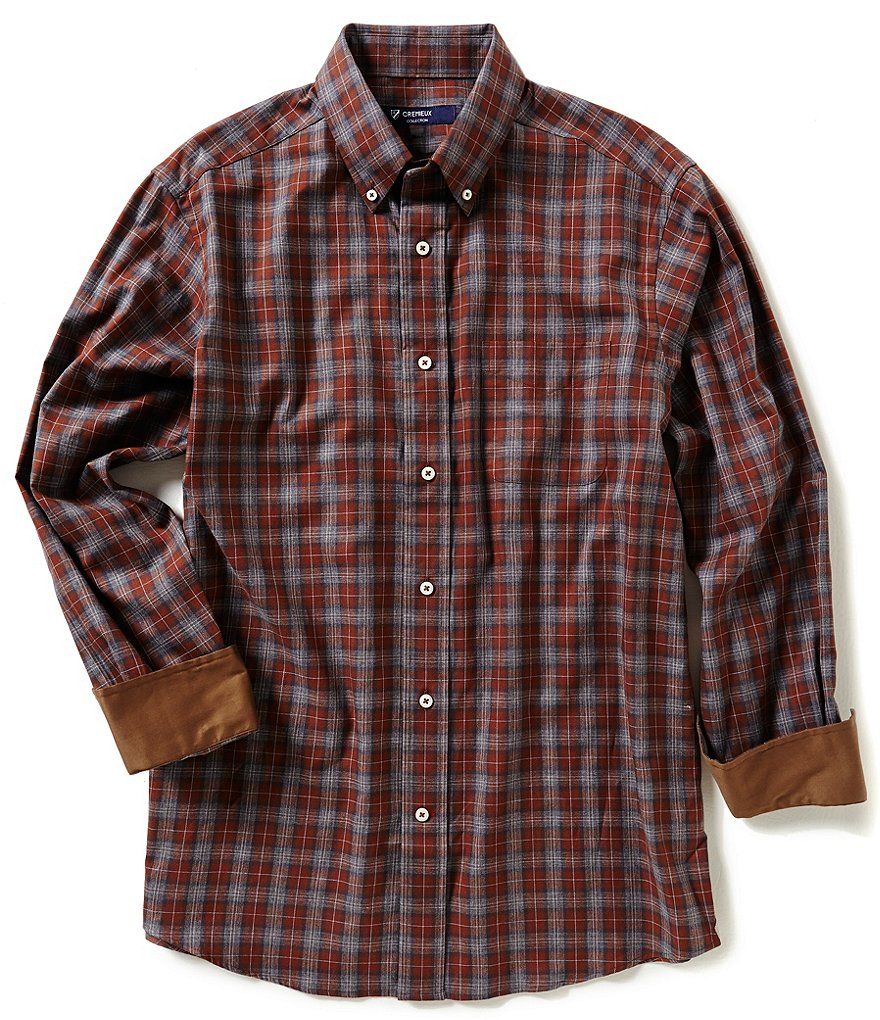 Cremieux Highland Peaks Collection Plaid Woven Shirt