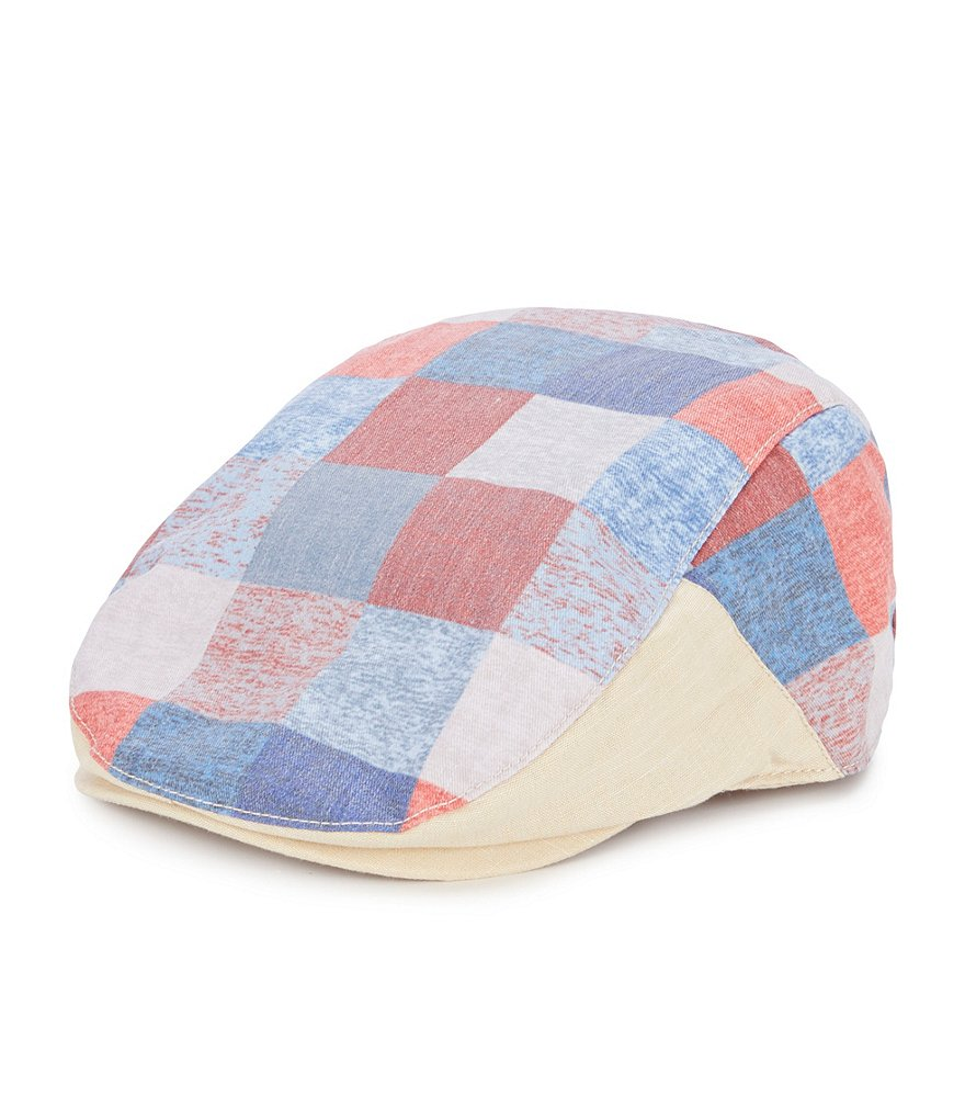 Cremieux Plaid Duckbill Hat