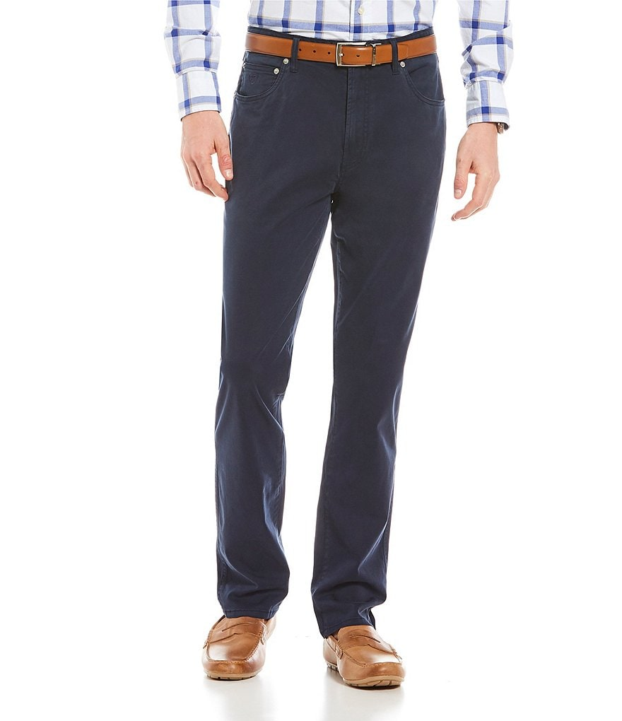 Cremieux Prince Slim-Fit 5-Pocket Stretch Pants