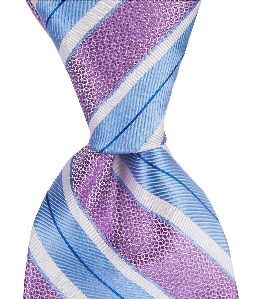 Cremieux Soft Stripe Traditional Silk Tie