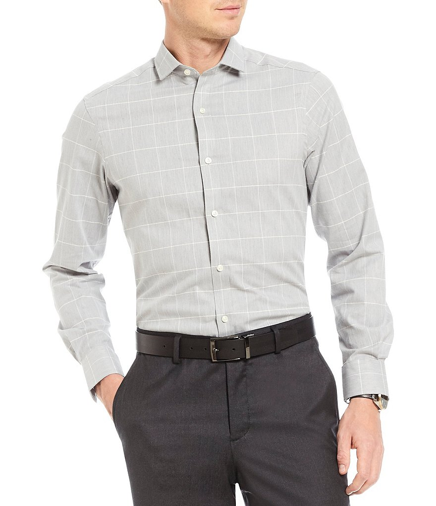 Crosby & Howard Flannel Plaid Long-Sleeve Sportshirt