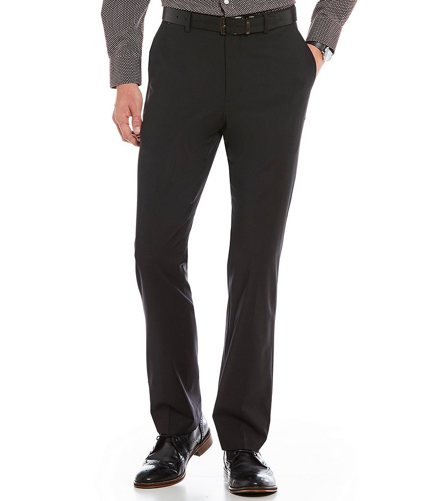 Crosby & Howard Flat-Front Crowley Wool Pants