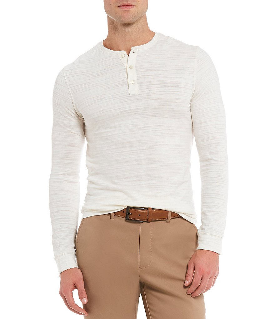 Crosby & Howard Long-Sleeve Slub Henley