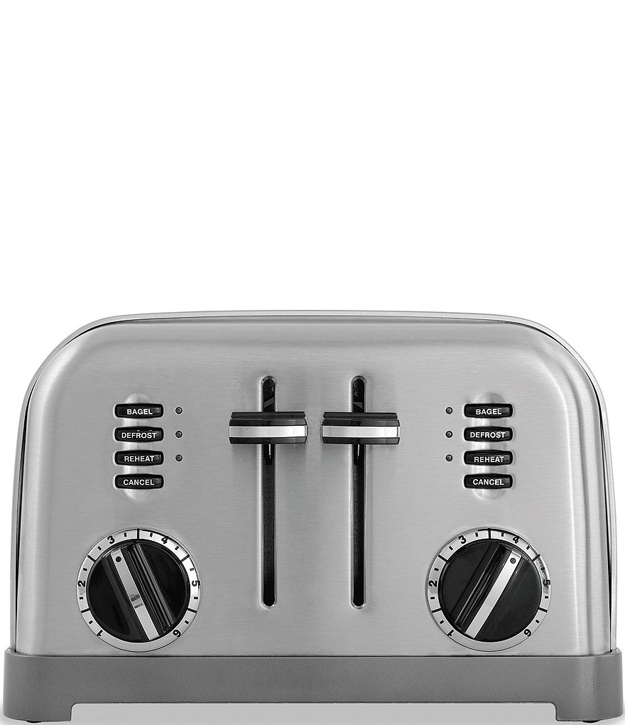 Cuisinart 4 Slice Brushed Stainless Metal Classic Toaster