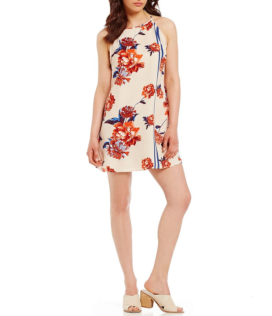 C&V Chelsea & Violet Floral Print Shift Dress