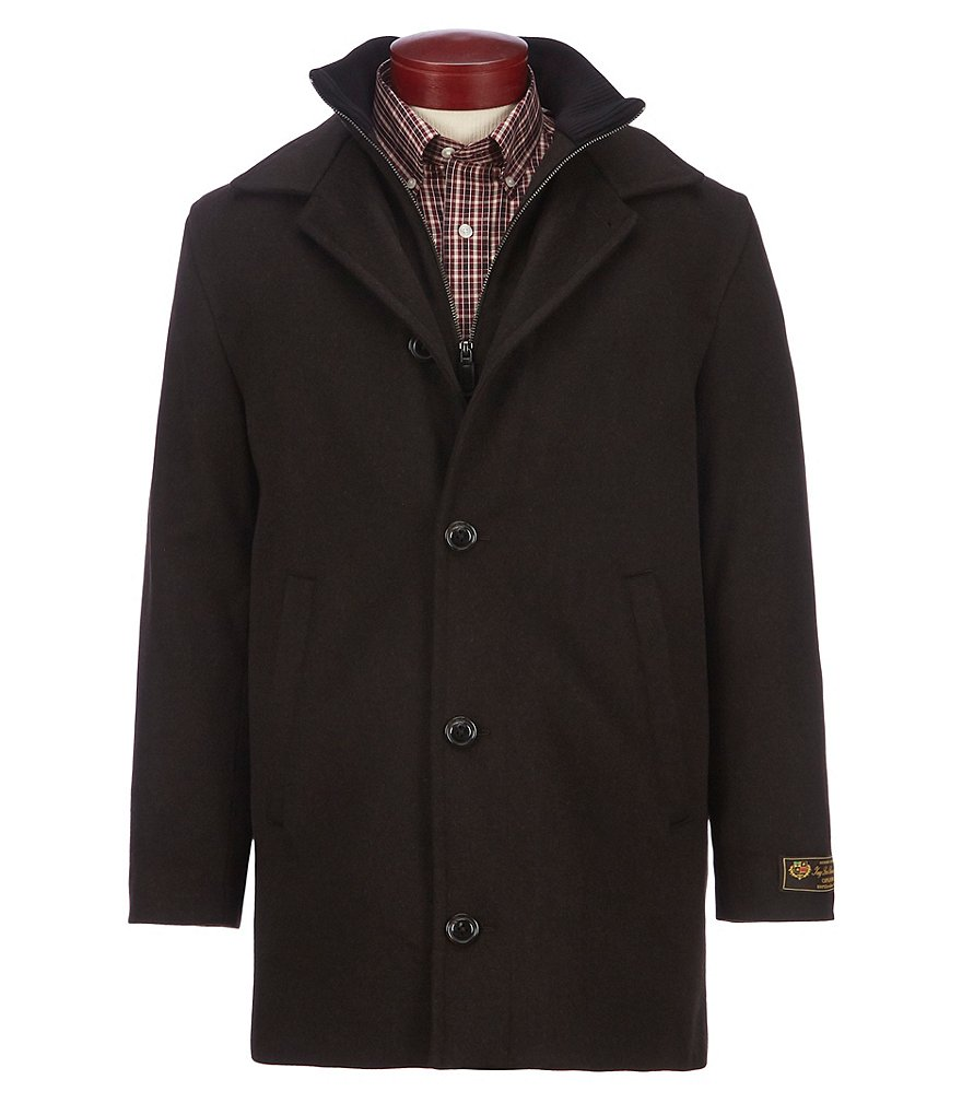 Daniel Cremieux Signature Full-Zip Wool Car Coat