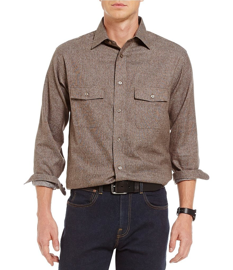 Daniel Cremieux Signature Jasper Long-Sleeve Woven Shirt