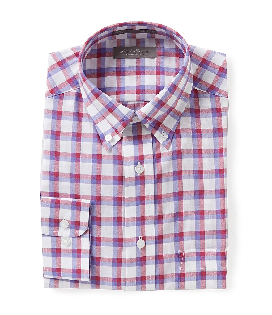 Daniel Cremieux Signature Long-Sleeve Plaid Woven Shirt