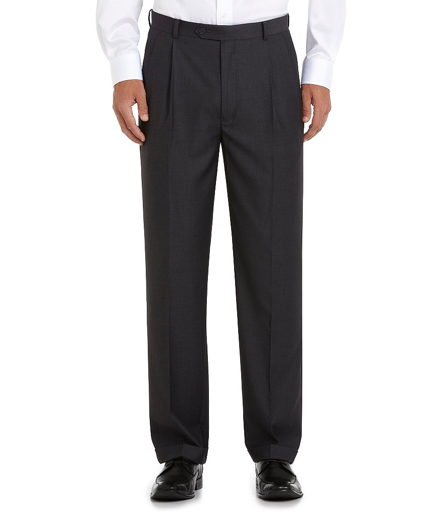 Daniel Cremieux Signature Classic-Fit Pleat Front Pants