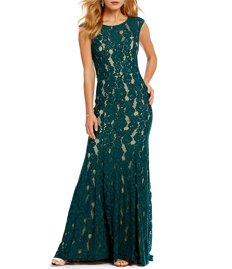 Decode 1.8 Illusion Lace Gown