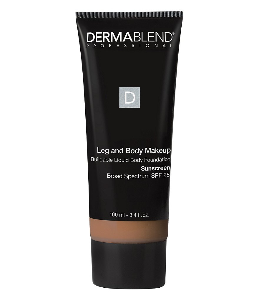 Dermablend Leg & Body Makeup Buildable Liquid Body Foundation SPF 25