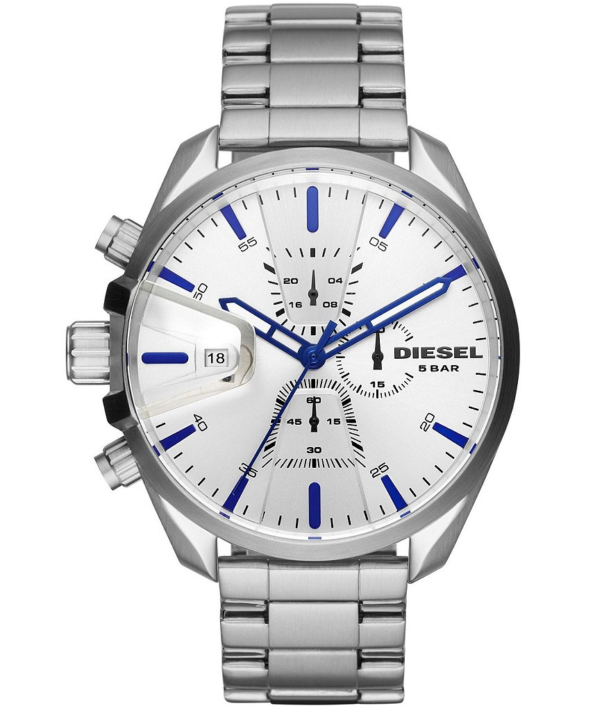 Diesel Men's MS9 Chrono Stainless-Steel Watch