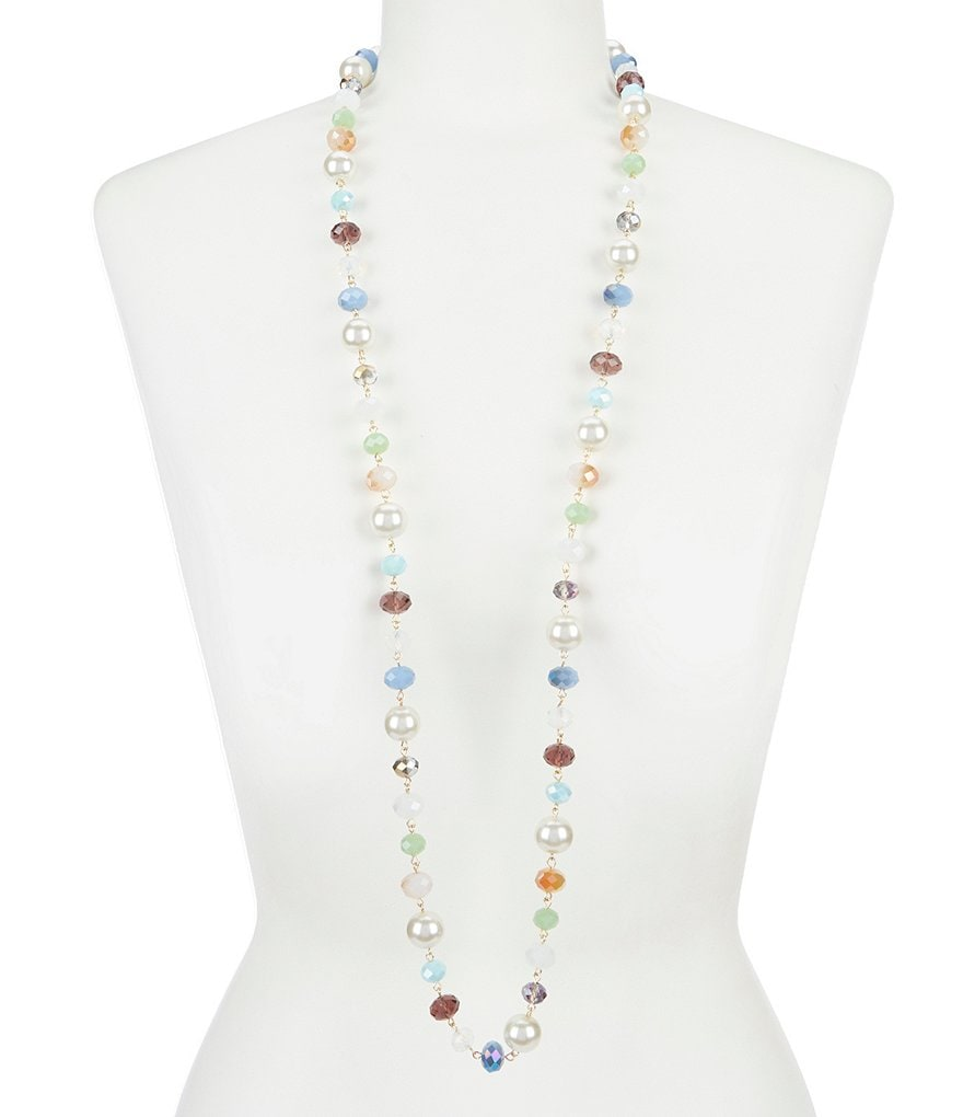 Dillard's Multi Color Strand Necklace