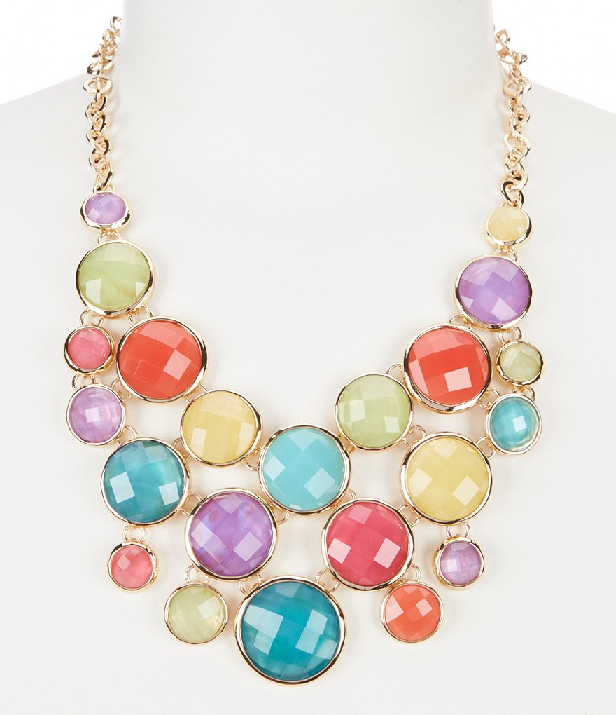 Dillard´s Round-Stone Statement Necklace