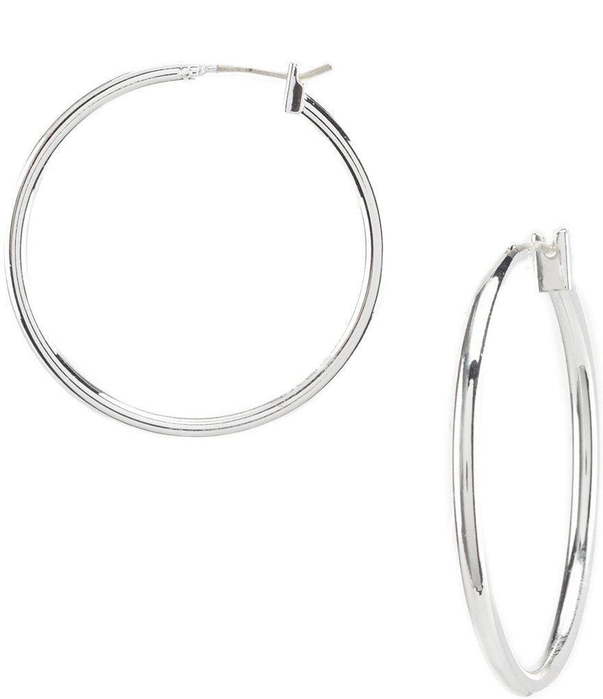 Dillard´s Tailored Hoop Earrings