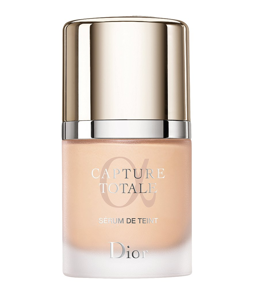Dior Capture Totale Triple Correcting Serum Foundation Wrinkles-Dark Spots-Radiance With Sunscreen Broad Spectrum SPF 25