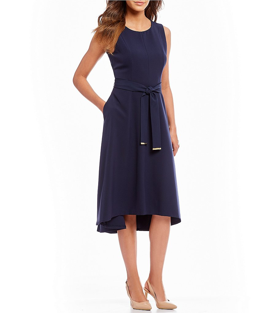 Donna Karan New York Crepe Midi Dress