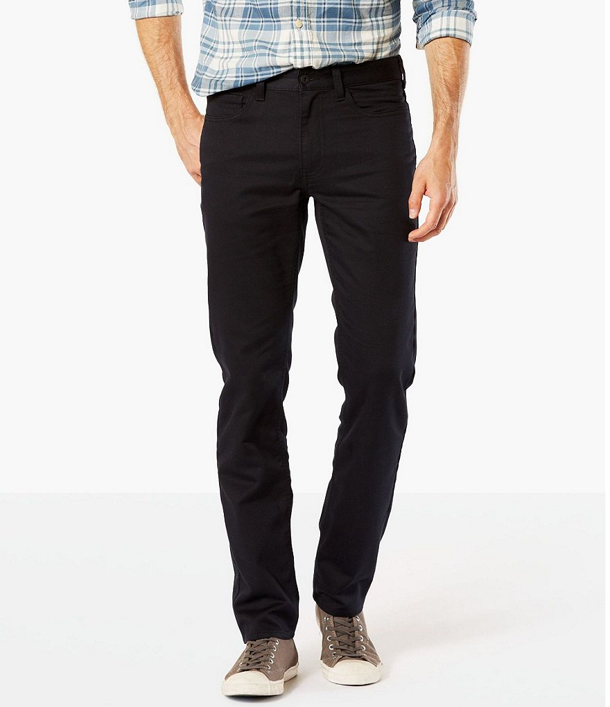 Dockers #double;The Jean Cut#double; Soft-Stretch Slim Fit Flat Front Pants