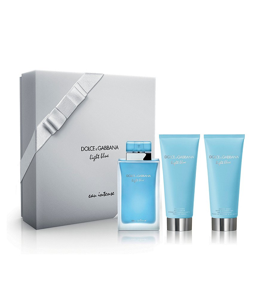 Dolce & Gabbana Light Blue Eau Intense 3 Piece Gift Set