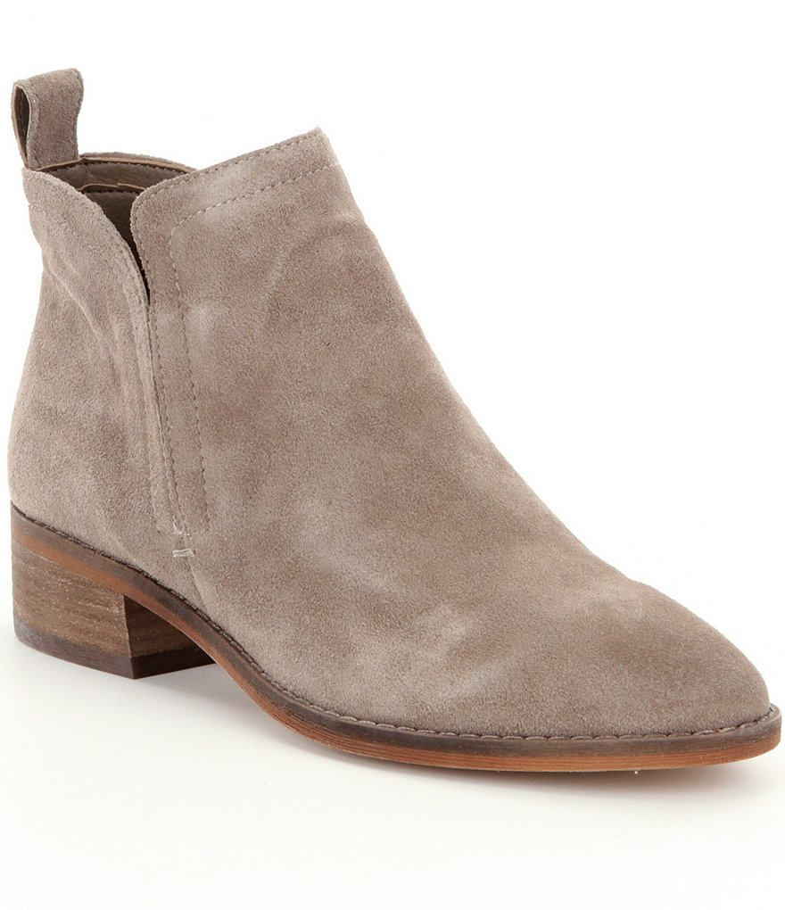 Dolce Vita Tessey Suede Pull On Booties