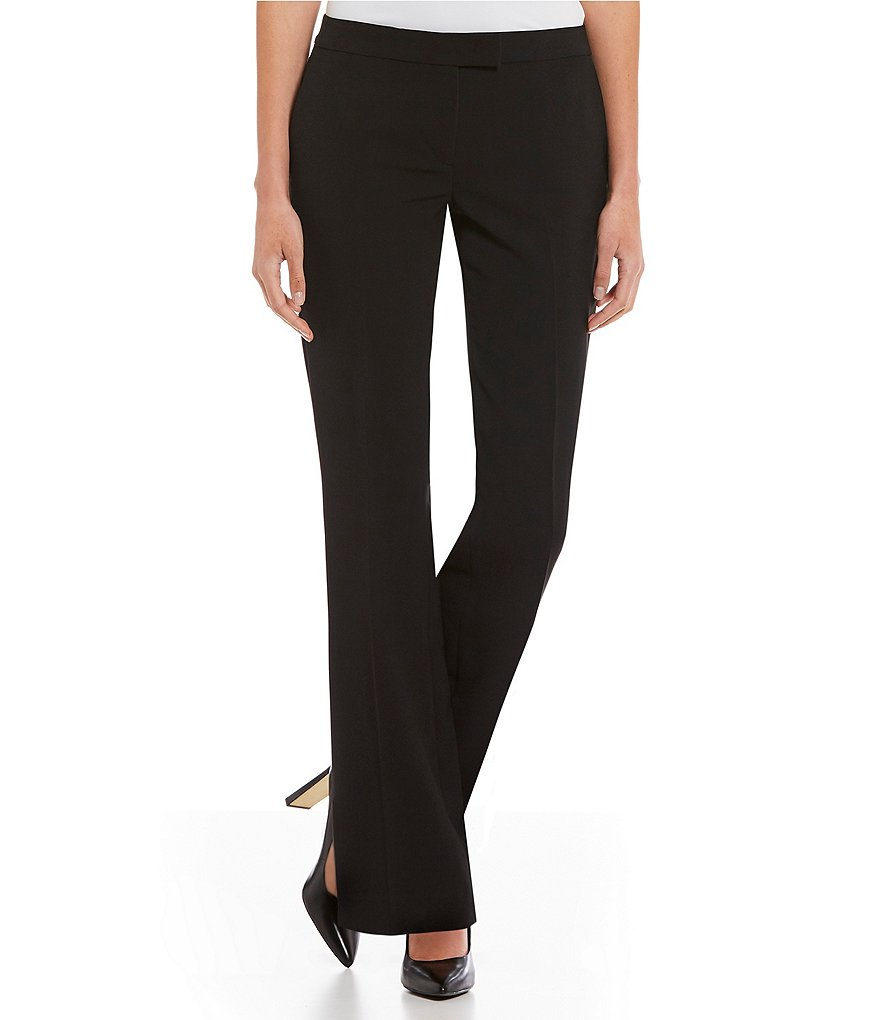 Donna Karan New York Stretch Crepe Bootcut Pants