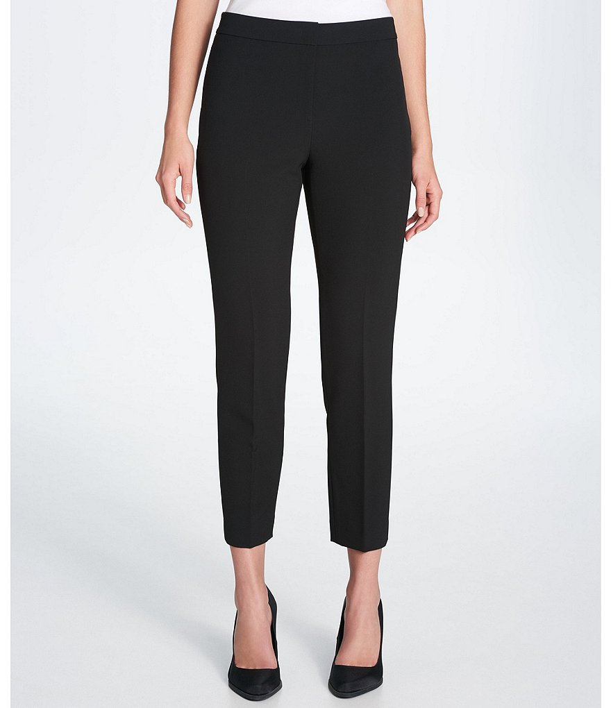 Donna Karan New York Stretch Crepe Ankle Pants