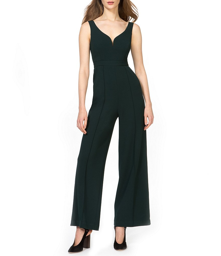 Donna Morgan Sweetheart Neck Jumpsuit