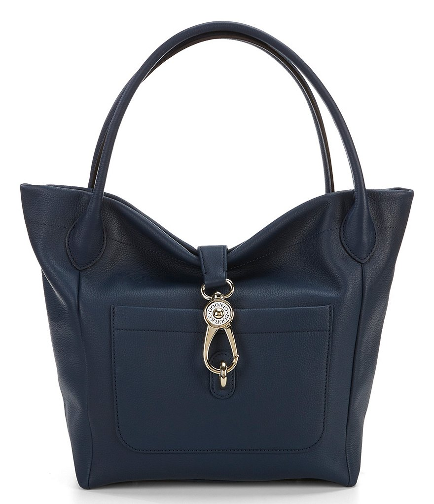 Dooney & Bourke Belvedere Collection Logo Lock Tote