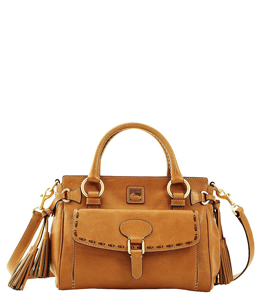 Dooney & Bourke Florentine Medium Pocket Tassel Satchel