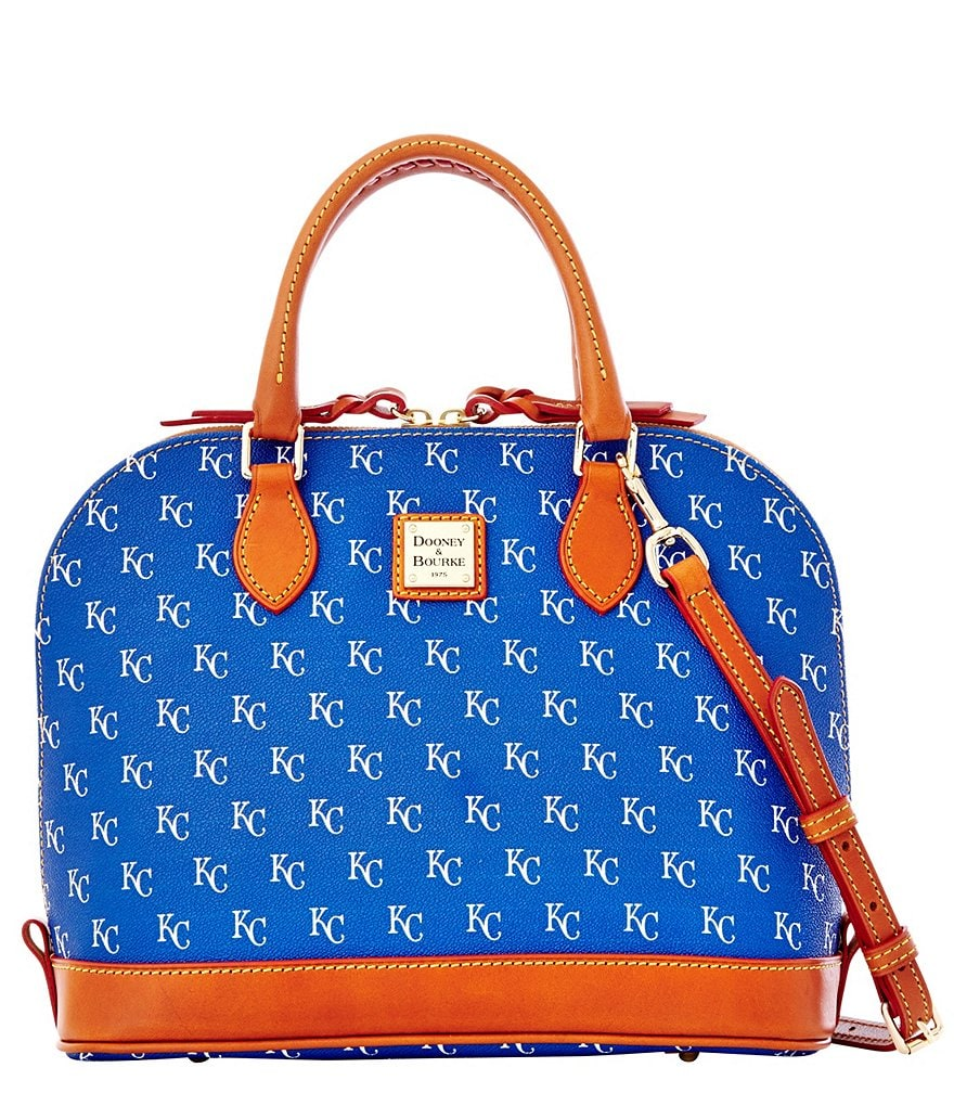 Dooney & Bourke Kansas City Royals Zip Zip Satchel
