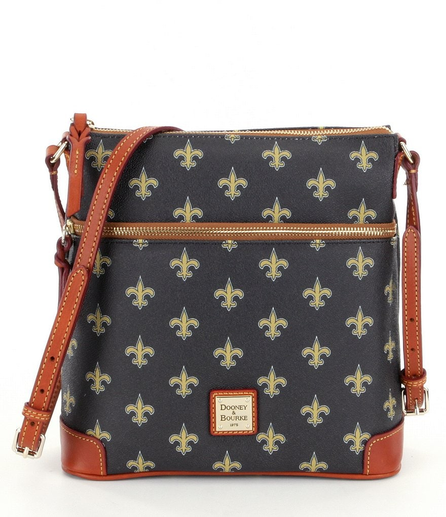 Dooney & Bourke NFL Collection New Orleans Saints Cross-Body Bag