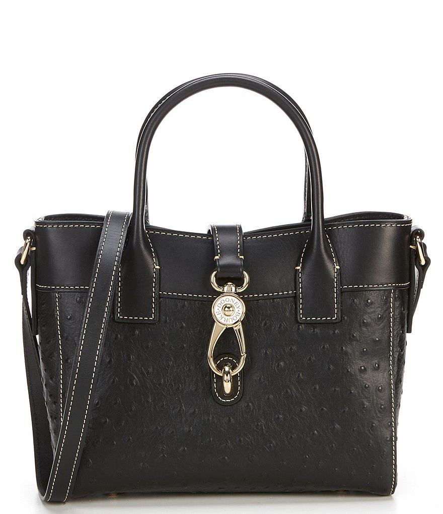 Dooney & Bourke Ostrich Collection Amelie Tote Bag