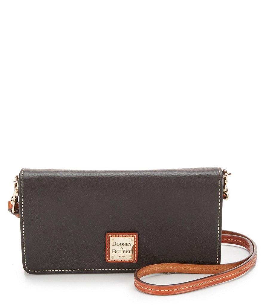 Dooney & Bourke Pebble Collection Daphne Cross-Body Wallet
