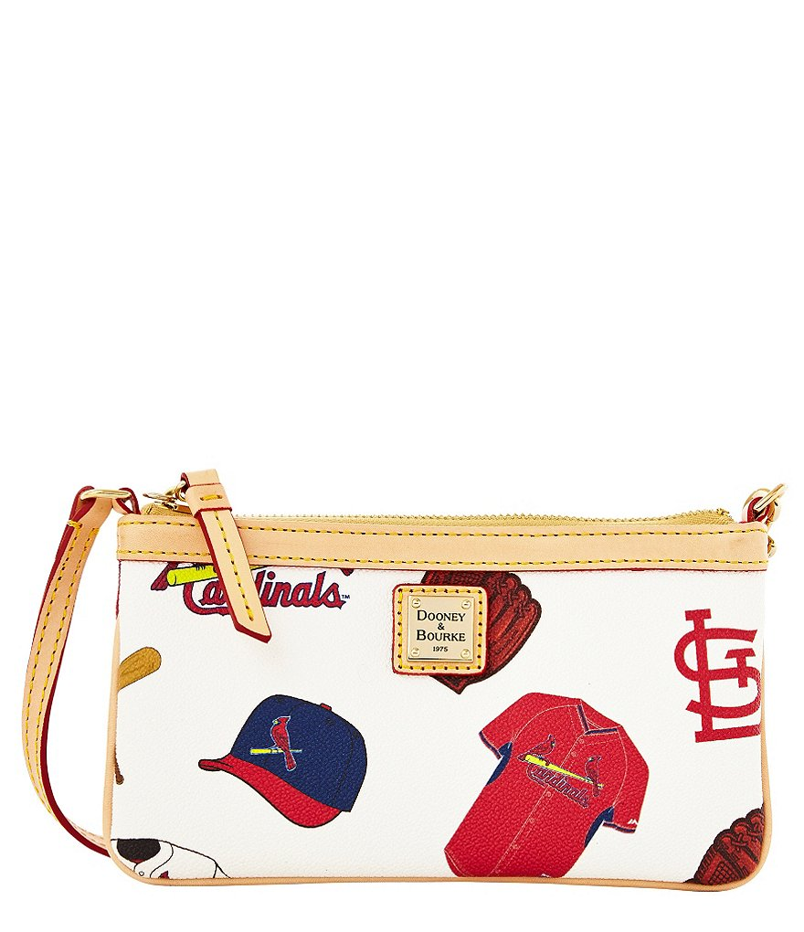 Dooney & Bourke St. Louis Cardinals Canvas Large Slim Wristlet