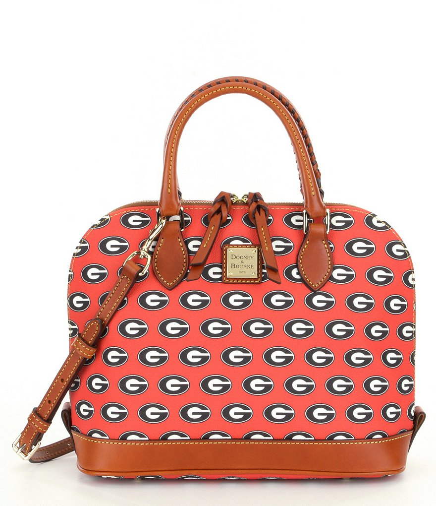Dooney & Bourke University of Georgia Zip Zip Convertible Satchel