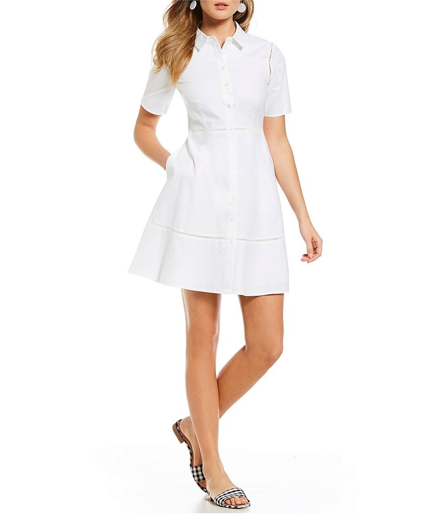 Draper James Poplin Shirtdress