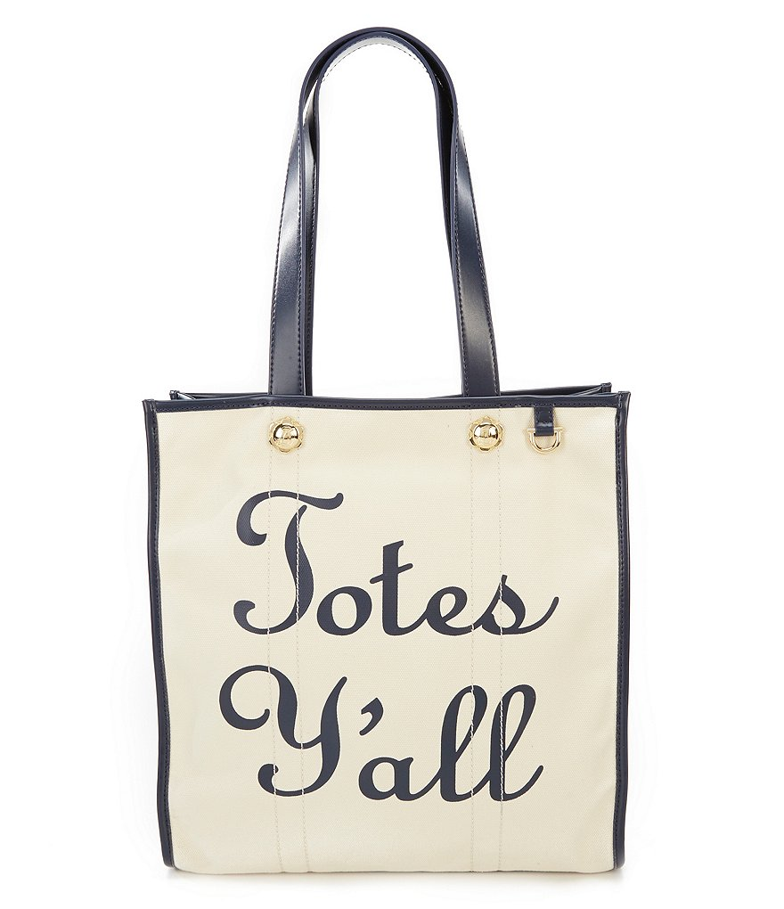 Draper James Totes Y'all Vanderbilt Tote