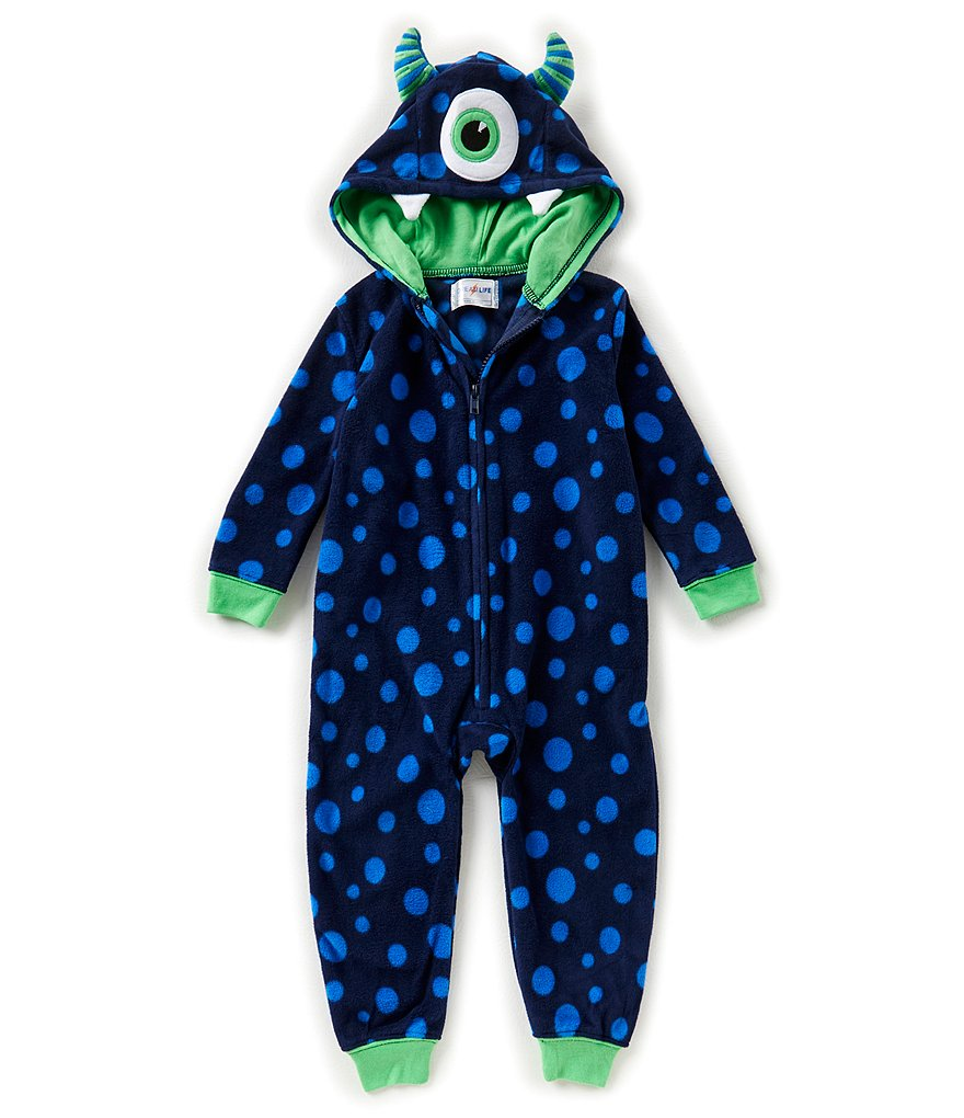 Dream Life by Us Angels Big Boys 8-14 Cyclops Onesie Pajamas