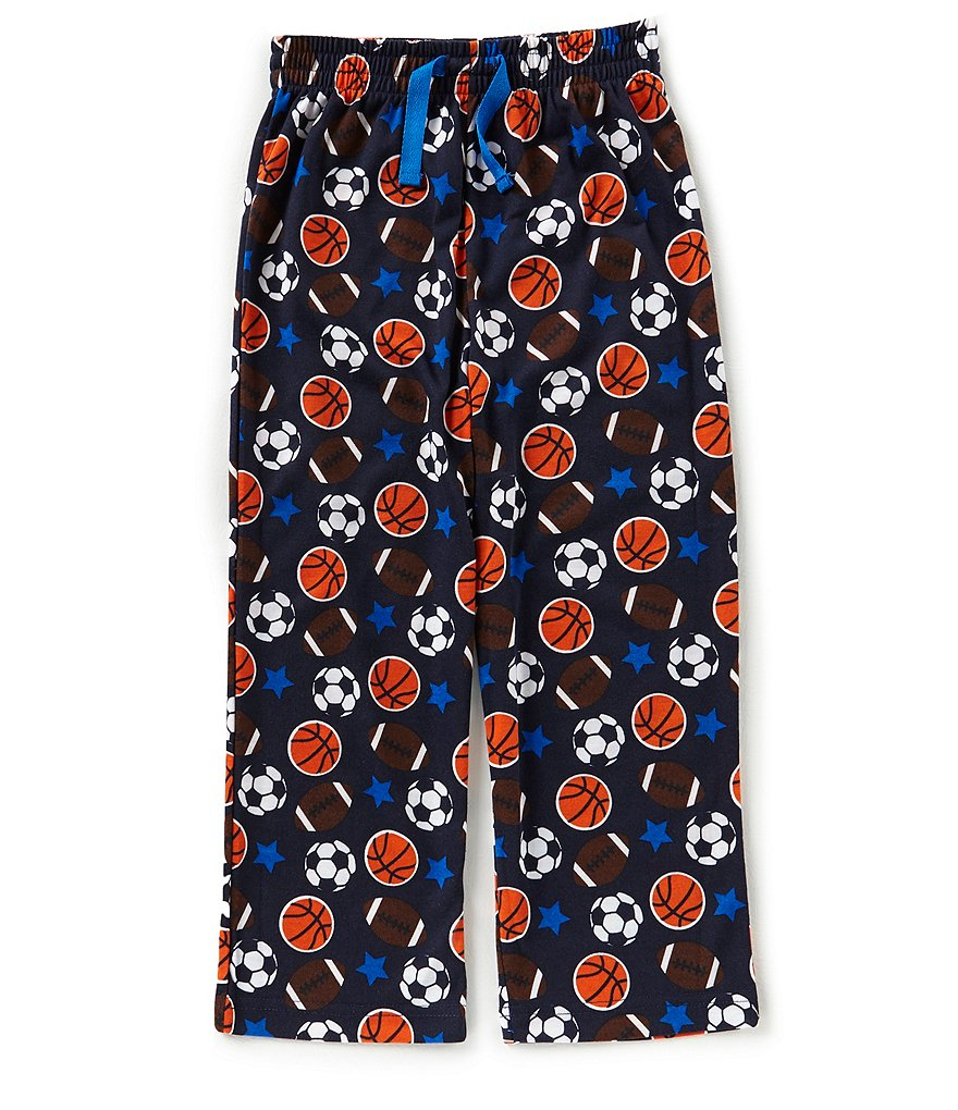 Dream Life by Us Angels Big Boys 8-20 Football-Print Pajama Pants