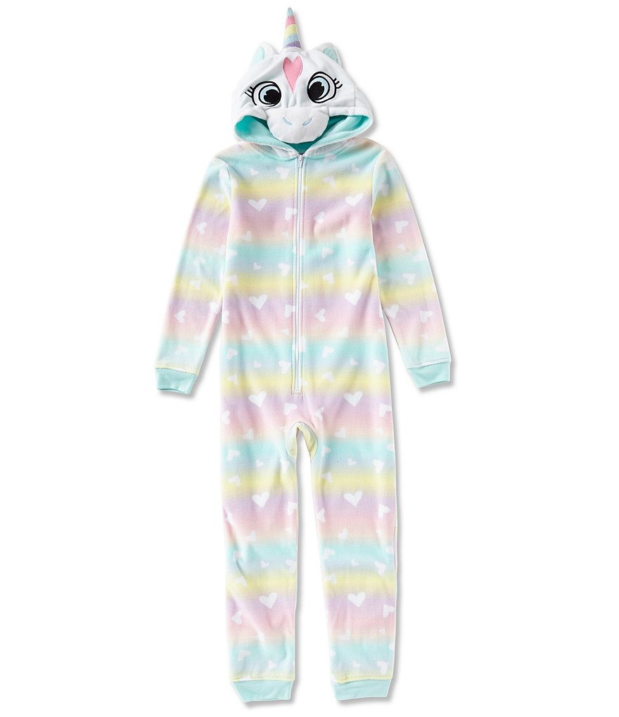 Dream Life by Us Angels Big Girls 7-14 Unicorn Onesies