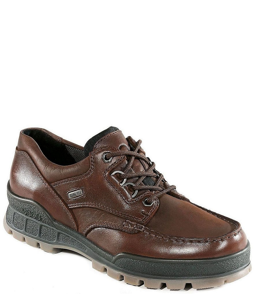 ECCO Track II Low Leather Oxfords