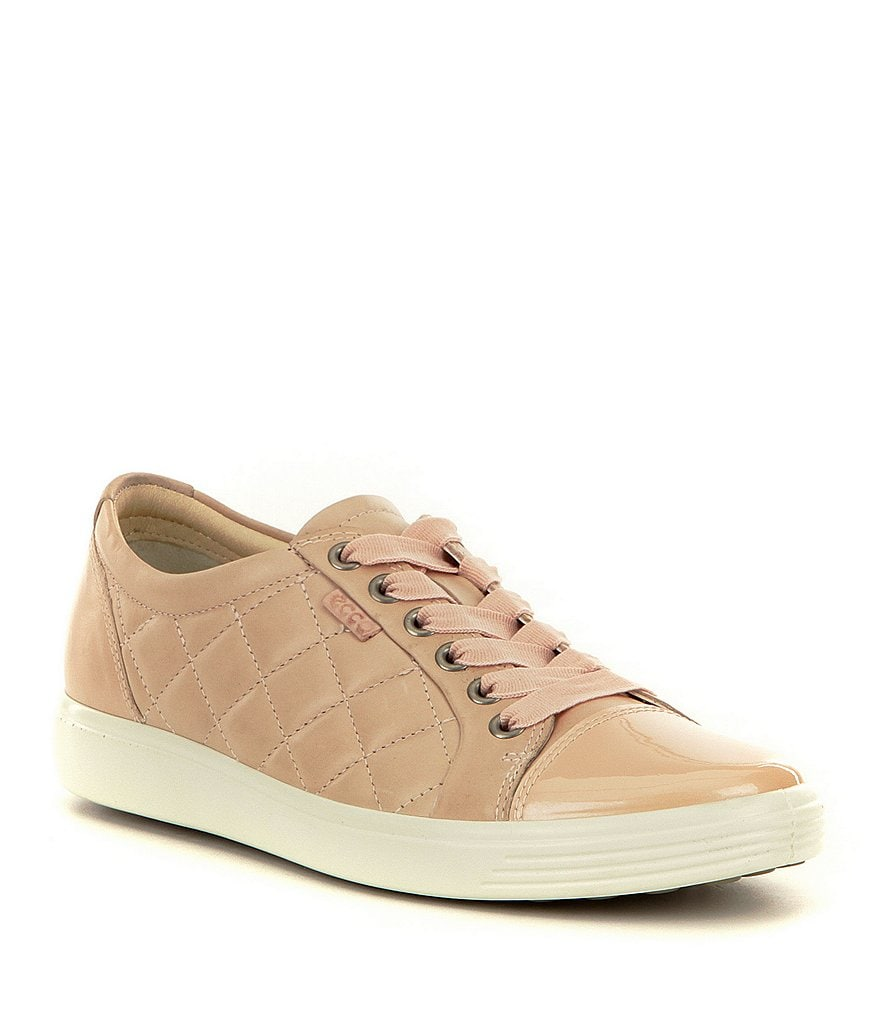 ECCO Women´s Soft 7 Quilted Tie Sneakers