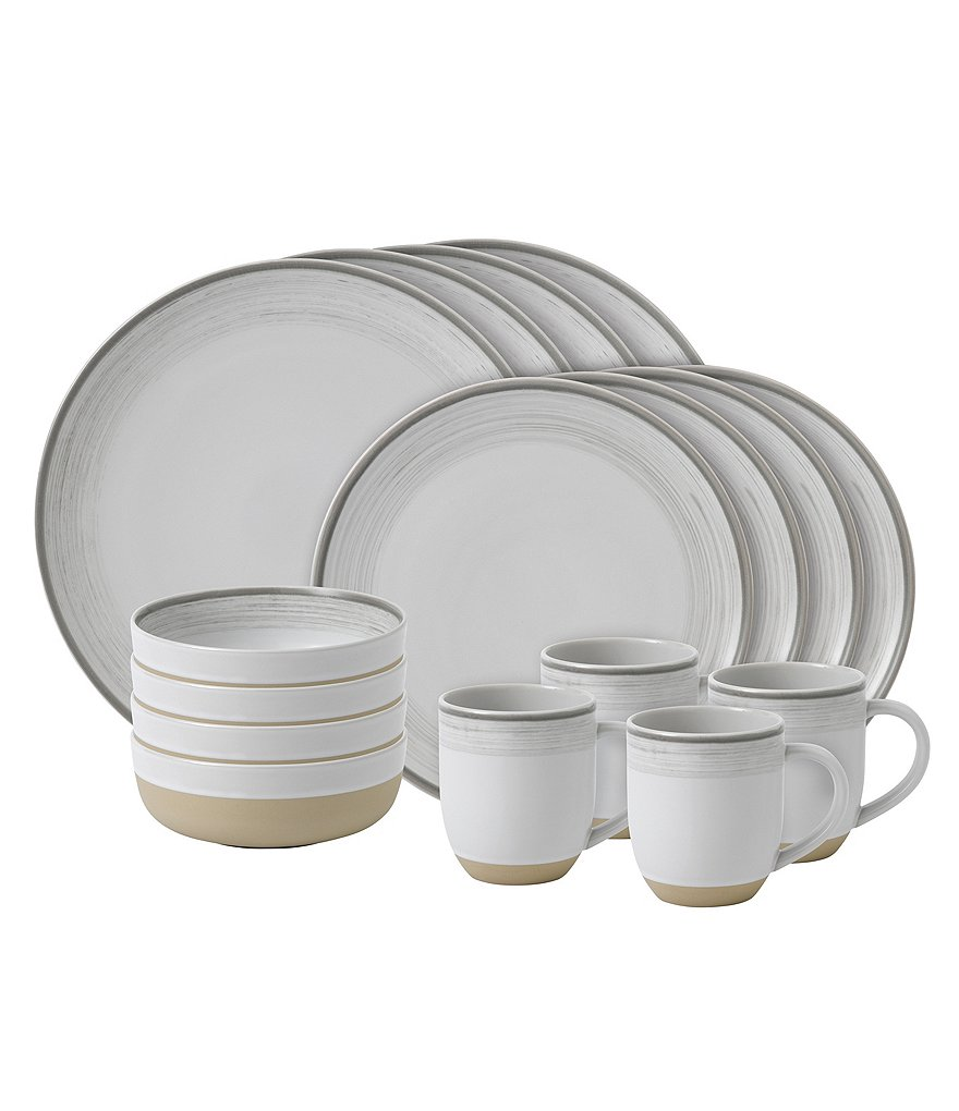 ED Ellen DeGeneres Crafted by Royal Doulton Brushed Glaze 16-Piece Dinnerware Set  sc 1 st  Dillardu0027s & ED Ellen DeGeneres Crafted by Royal Doulton Brushed Glaze 16-Piece ...